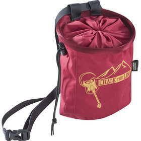 Edelrid Rocket Chalk Bag darkred
